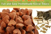 Cat food, treats