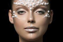 Underwater makeup theme