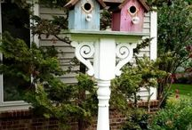 Garden bird houses / The different ideas for Bird Houses.