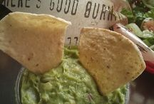 Delicious Mexican Bar, Americanized / There is no such thing as a little garlic. Unknown