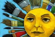 EL SOL, LA LUNA Y LOS PLANETAS TAMBIÉN TIENEN OJOS... / LOS OJOS DEL UNIVERSO....