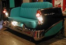 Auto Love! / Re-Scape shares all kinds of inspiration of recycled/repurposed creations from auto parts / by Re-Scape.com