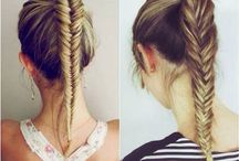 School / Cool school hair styles,book decorations,inspiration quotes.