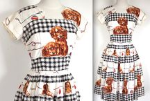 Novelty Print Dresses / by WeSewRetro