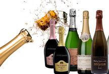 """Bubbles & Nibbles / An hand-picked selction of sparkling wines and Champagnes and the perfect nibbles to pair them with! Le t us know what works best for you"""""""