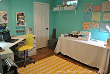 Craft room / by Aly Bellamy
