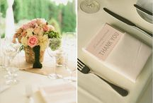 Events: Place Setting & Table Details
