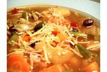 Recettes: soupes
