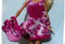Vestiti per Barbie / Vestiti all' uncinetto modelli originali creati da me.