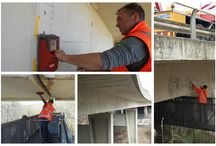 Inspectieapparatuur voor de bouw / Meetapparatuur zoals RADAR dekkingsmeters, diktemeters, drukvastheid, voeghardheidsmeters, Proceq, Hilti, en andere merken.