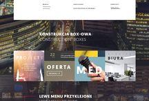 Website designs / A collection of website designs