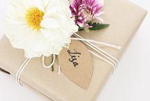 Geschenke // Gift Wrapping