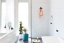 bathroom reno ideas / by Tanya Beach