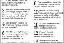Children's behaviors  &  guidelines