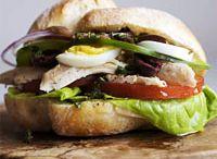 Sandwich/wraps / by Elizabeth Swindle