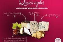 Clasificación de quesos / A todos los que gustan del mundo del queso: Las delicias de él!