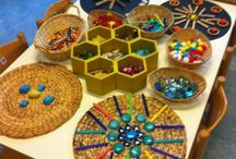 Kindergarten Loose Parts / This board includes ideas, activities and resources for working with loose parts in the kindergarten classroom.