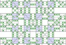 Number Logic Puzzles / Sudoku, Kakuro, Futoshiky, Binary, Skyscrapers