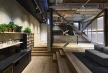Basement - offices / storage