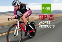 Top 25 ~ Sports / Top 25 Best Selling Sports Products on iHerb (http://www.iherb.com/Sports-Fitness-Athletic) ~ New Customers can use Rewards Code PNT999 to get $10 off of a $40 minimum purchase or $5 off first time orders of less than $40. / by iHerb Inc