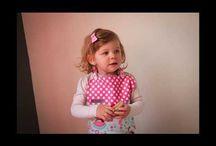 Bavettes/ bavoirs Mademoiselle Bigoudi baby bibs