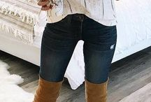 Over the knee boots outfits a