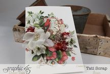 Petaloo and Graphic 45 / These are beautiful projects using Petaloo flowers and Graphic 45 collections! / by Graphic 45®