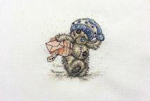 Haft krzyżykowy - moje prace / Album wykonanych przeze mnie prac w technice haftu krzyżykowego.