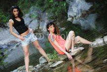 At the River - Marianna & Greta