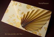 Origami buste da lettera