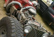 CARS: RAT RODS / by Marlena Cook