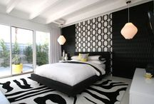Black and White Interior Design Ideas / Konceptliving  - There is a special category of people that like and promote black and white designs in everything