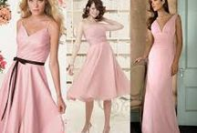The Prettiest Pink Bridesmaid Dresses