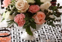 Peach Pink White Wedding Flowers