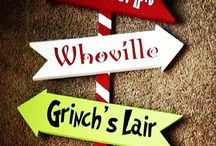 Grinch Christmas decoations