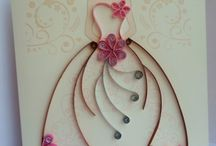 Quilling wedding / Quilling design for wedding