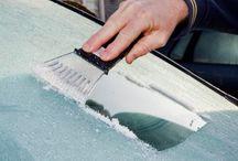 Ruit auto ijsvrij