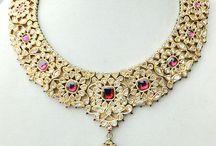 kundan jewelry / kundan necklace sets and earrings