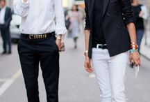 OweAsa / For the love of white shirts... And more