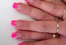French... / Klassieke french manicure of color french.