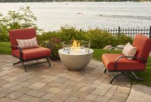Cozy Backyard / All the pieces necessary for a cozy backyard. Fire pits, pergolas and more to create the perfect outdoor space for family and friends.  / by Outdoor GreatRoom Company
