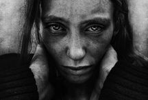 """Lee Jeffries / Black and white portraits of homeless people by Lee Jeffries For more information, please visit our website - www.sebastiantorri.com - and read the article """"The man who looks homeless people in the eye"""""""