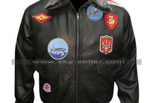 Tom Cruise Pilot Aviator Style Bomber Jacket With Patches / Buy this sophisticated Tom Cruise Pilot Aviator Style Bomber Jacket With Patches at most affordable price from Sky-Seller and avail free shipping