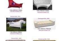 Sofa's / Catalogue