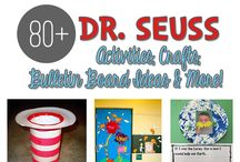 Dr. Seuss / Dr. Seuss activities, crafts, lesson plans, bulletin board ideas, worksheets, and more!