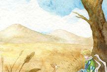 The Little Prince / Рисунки и книги
