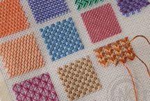 Needlepoint stitches