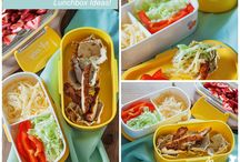 Back to School Lunchbox Ideas / Bento box, lunch box, back to school lunches and snack ideas, recipes and more