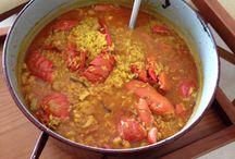 Comidas / Rice with lobster - arroz con bogavante