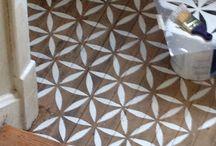 Maalatut lattiat